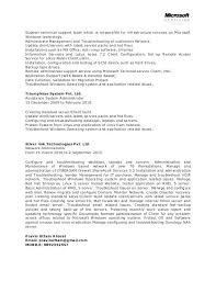 ms office resume templates resume of network administrator windows resume template network