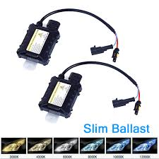 hid fog light ballast hid xenon bulbs replacement h10 9005 35w 12v 4300k 6000k 10000k fog