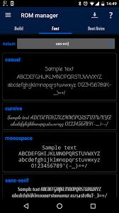 android default font font changer 3c portal