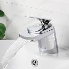 Kitchen And Bathroom Faucet Bathrooms Design Waterfall Bathroom Faucet Cheap Bathroom Sink