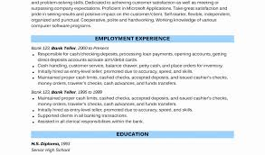 starter resume no experience state department physician sample resume unique sample bank teller