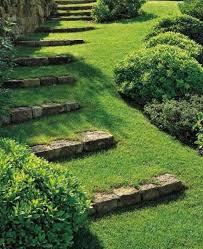 garten treppe kreative gartengestaltung mit diy gartentreppe mit steinen und