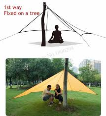 Beach Awnings Canopies Naturehike Sun Shelter Waterproof Awning Canopy Tent Beach Tent