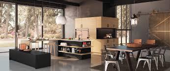 cuisine morel cuisine contemporaine décor bois gaia zenit haut de gamme sur mesure