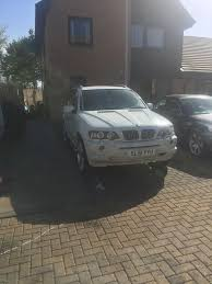 2001 bmw x5 3 0l petrol 1 year mot white manual in niddrie