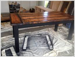 Farm House Kitchen Table by Large Farmhouse Kitchen Table Trends Also Distressed Round Dining