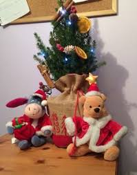 Winnie The Pooh Christmas Tree Decorations Eeyore Is Now Away With The Decorations Adventures Of Winnie The