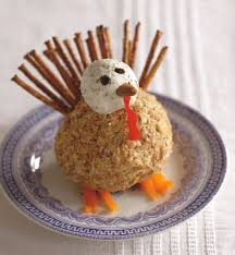 thanksgiving appetizer herbed turkey cheese ball from michelle buffardi u0027s great balls of