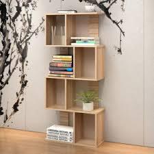 Adjustable Shelves Bookcase Black Bookcase 5 Shelf Adjustable Bookshelf Wood Furniture Storage
