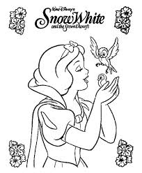 86 snow white coloring pages print snow white coloring