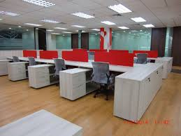 Office Furniture Workstations by Office Furniture Singapore Modern Sleek Cluster Of 6 Workstations