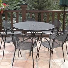 Emu Bistro Table Emu Cambi Steel 48 Round Dining Table 805
