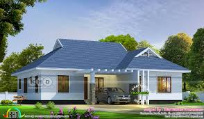 4 bedroom single storied colonial home design kerala home design