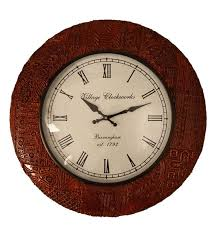 circular wood wall buy decor brown teak wood 13 inch live edge circular log
