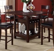 F Counter Height Tables Wine Storage Welcome To Decoreza - Counter height kitchen table with storage