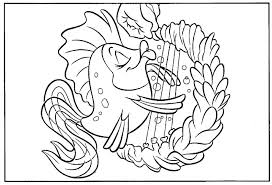 mermaid coloring pages allsnetwork bebo pandco