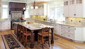 Sunrise Kitchen Cabinets Sample Kitchen White Island Table