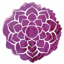 Lotus Flower With Om Symbol - discover the meaning behind the original crown chakra symbol