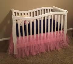 Bed Skirt For Crib Tulle Tutu Crib Skirt Or Bed Skirt Craft Part 2