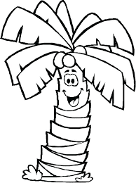 coloring pictures of a palm tree palm tree coloring pages literaturachevere org