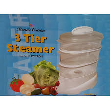 steamer cuisine bonne cuisine 3 tier electric steamer nutrition