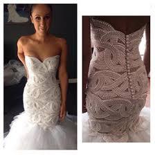 pearl luxury crystals white wedding dress online pearl luxury