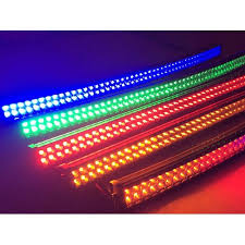 40 color change light bar lumilux