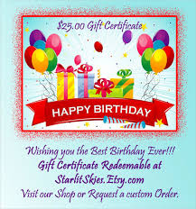 20 birthday gift certificate templates u2013 free sample example
