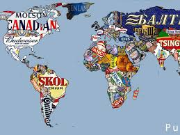 World Map Cartoon by Beers Of The World Maps Business Insider