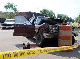 car crashes through barricade kills two at selmer tennessee