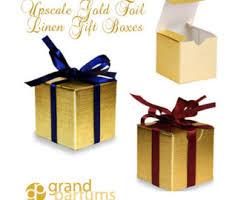 metallic gift box premium gift boxes etsy