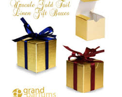gold foil gift boxes gold foil box etsy