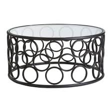 wrought iron coffee table with glass top coffee table antalya round coffee table black metal frame glass