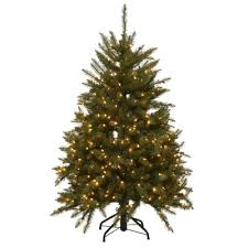 Home Depot Christmas Tree Lights - 4 5 ft dunhill fir artificial christmas tree with 450 clear