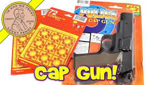 police 45 toy cap gun shoots 8 ring caps lps dave repair shop