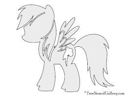 cartoon pumpkin stencil my little pony rainbow dash stencil free stencil gallery