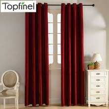 Burgundy Curtains For Living Room Popular Burgundy Curtains Buy Cheap Burgundy Curtains Lots From