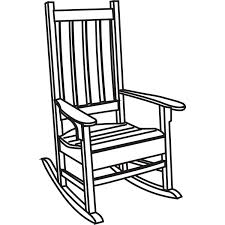 wooden rocking chair kits home chair decoration