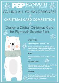 christmas card competition plymouth science park