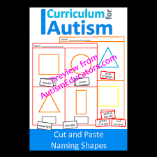 and paste naming shapes worksheets