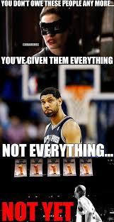 Tim Duncan Meme - nba memes on twitter tim duncan will never give up legend