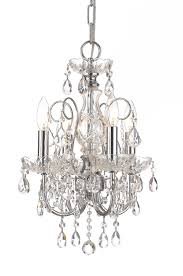 Crystal And Bronze Chandelier Lighting Crystorama Chandeliers Crystalroma Crystal And