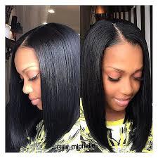 weave hairstyles with middle part bob hairstyle short bob weave hairstyles for black women