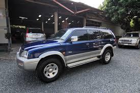 mitsubishi strada 2010 2003 mitsubishi strada g wagon 2 8 4wd a t second hand cars in