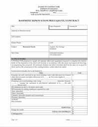 renovation estimate template for kitchen remodel akiozcom latest