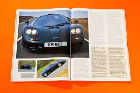 mclaren f1 factory into orbit the first mclaren f1 road test car archive june 1994