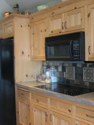 Kitchen Pine Cabinets Pine Kitchen Cabinets Could Be Neutral Despite The Fact That There