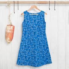 amago sailboat print dress