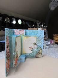 Book Birthday Card Calla Lily Studio Blog Pop Up Book Birthday Card