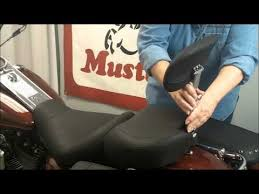 mustang touring seat vintage passenger seat with passenger backrest for fl touring